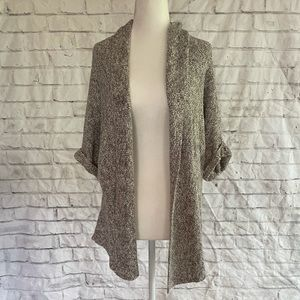 SONOMA 3/4 Sleeve Tan Open Front Cardigan S